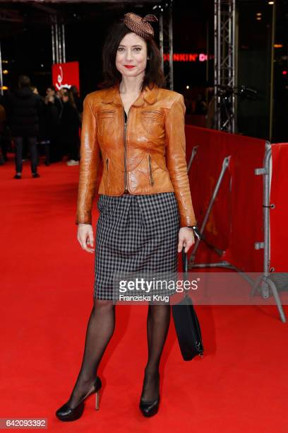 Inka Friedrich attends the 'In Times of Fading Light' premiere during the 67th Berlinale International Film Festival Berlin at Zoo Palast on February...