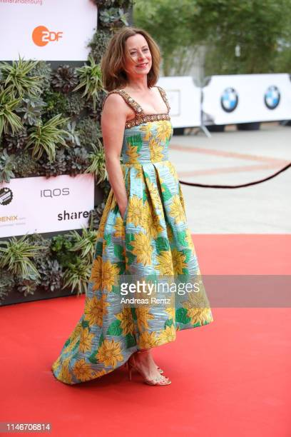 Inka Friedrich attends the Lola German Film Award red carpet at Palais am Funkturm on May 03 2019 in Berlin Germany