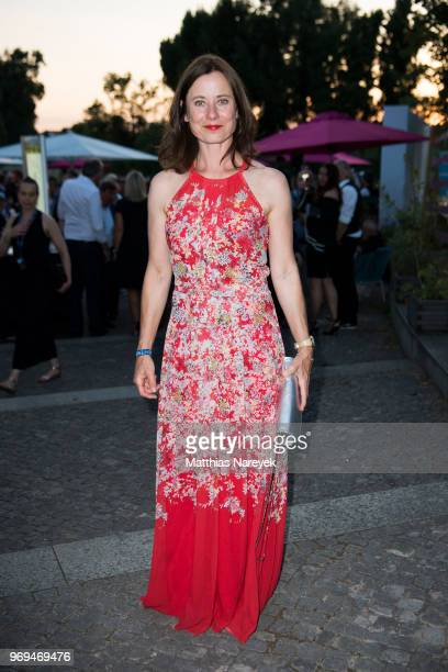 Inka Friedrich attends the Summer Party of the German Producers Alliance on June 7, 2018 in Berlin, Germany.