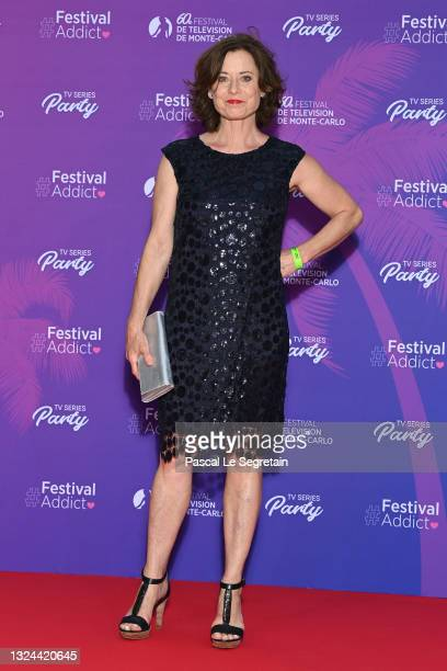 Inka Friedrich attends the TV Series Party during the 60th Monte Carlo TV Festival - Day Two on June 19, 2021 in Monte-Carlo, Monaco.