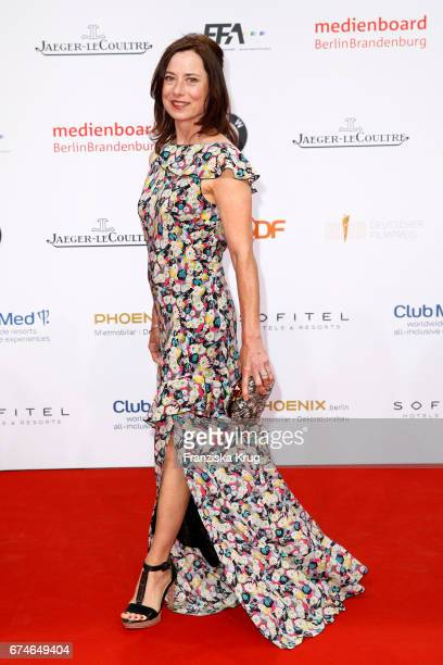 Inka Friedrich during the Lola German Film Award red carpet arrivals at Messe Berlin on April 28 2017 in Berlin Germany