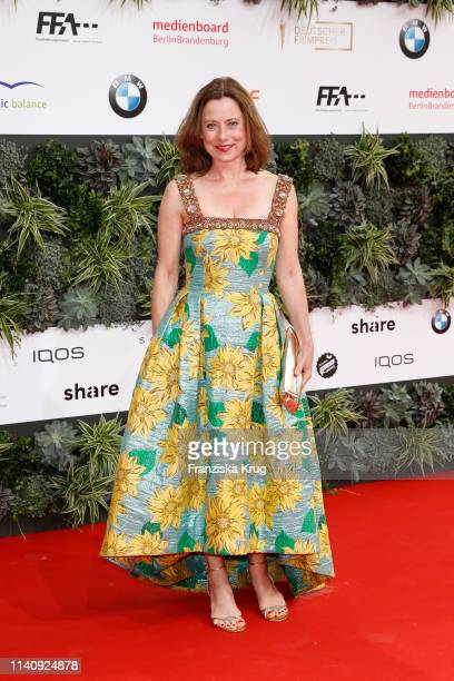 Inka Friedrich during the Lola German Film Award red carpet at Palais am Funkturm on May 3 2019 in Berlin Germany