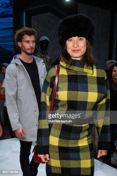 Inka Friedrich during the Nobis Cocktail at Premium Berlin on January 16 2018 in Berlin Germany