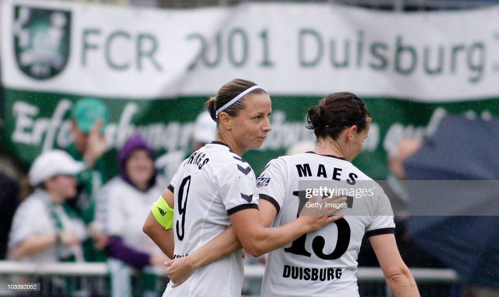 FCR 2001 Duisburg v Bayer 04 Leverkusen - Women Bundesliga
