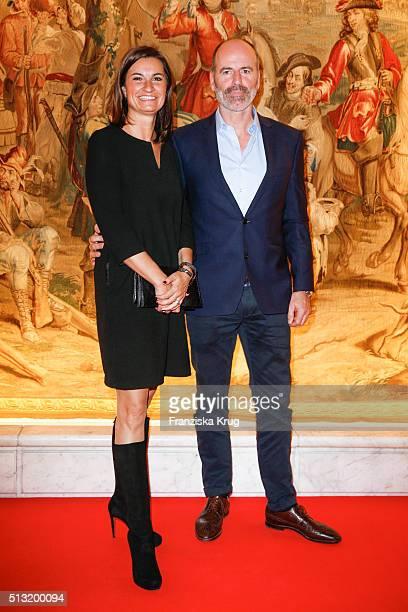 Inka Schneider and Klaus Boeing attend the Soiree Hotel Vier Jahreszeiten on March 01 2016 in Hamburg Germany