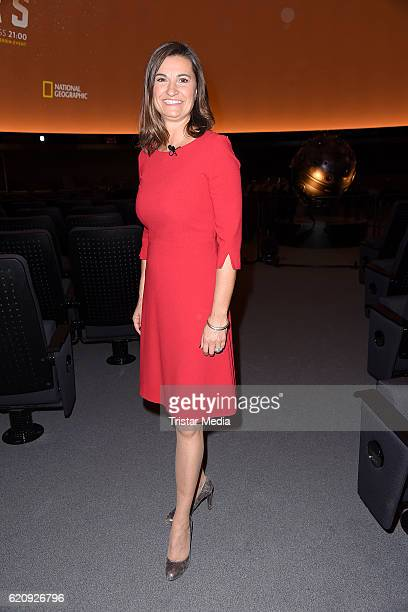 Inka Schneider attends the NatGeo Series 'Mars' Premiere on November 3 2016 in Berlin Germany