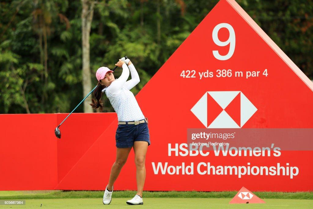 HSBC Women's World Championship - Round 1 : News Photo