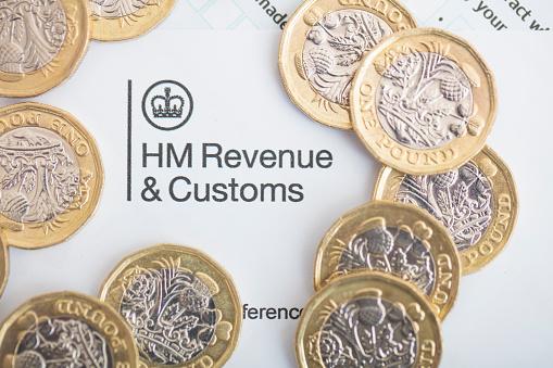 UK Inland Revenue Tax Form 887129472