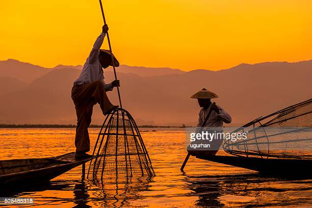 inle lake myanmar - myanmar culture stock pictures, royalty-free photos & images