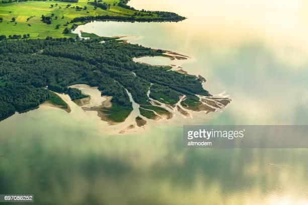 Zulauf zum See chiemsee