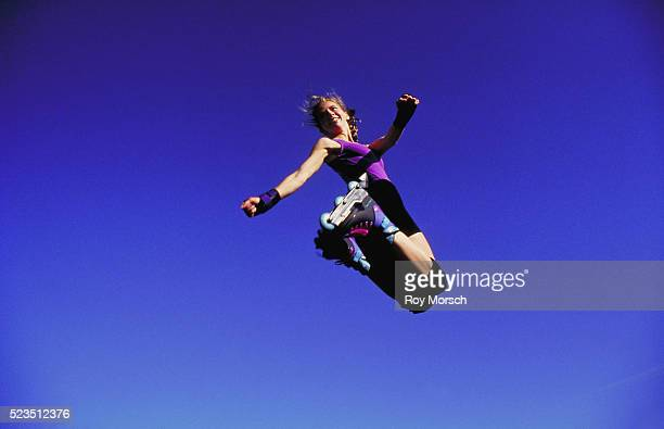 Inline Skater in the Air