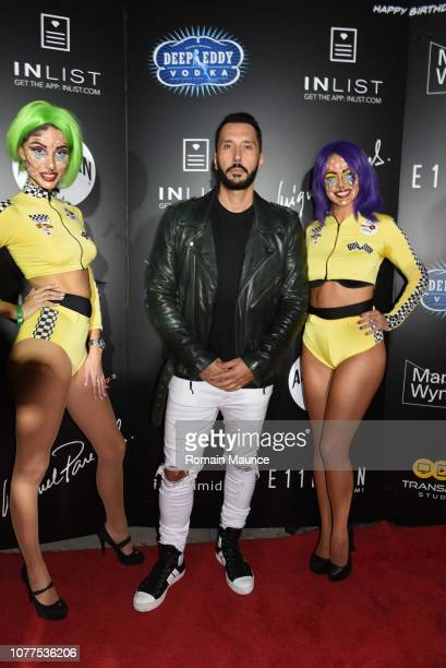 InList Presents 'Royal Racer' Art Basel Kickoff Party For Moishe Mana's Birthday With Cedric Gervais Lance Bass Miguel Paredes on December 4 2018 in...