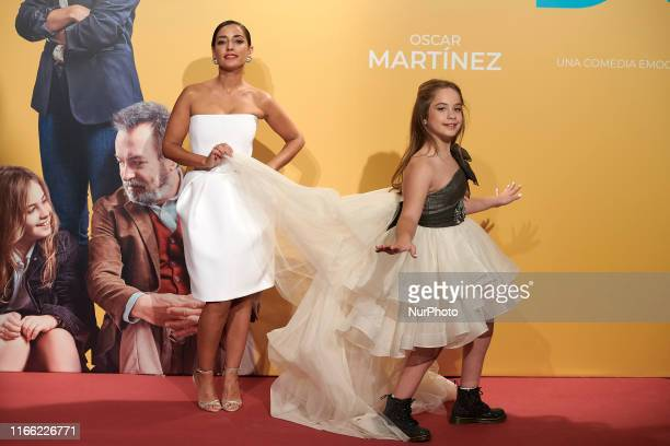 Inma Cuesta and Mafalda Carbonell attends the 'Vivir dos veces' premiere at Capitol Cinema in Madrid Spain on Sep 5 2019