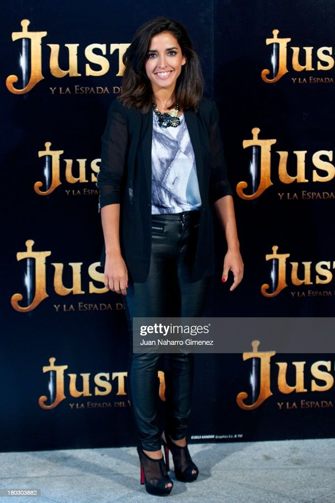 Inma Cuesta attends 'Justin And The Knights Of Valour' (Justin Y La Espada Del Valor) photocall at Castle of Villaviciosa de Odon on September 11, 2013 in Villaviciosa de Odon, Spain.