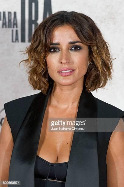 Inma Cuesta attends 'Tarde Para La Ira' premiere at Capitol Cinema on September 8 2016 in Madrid Spain