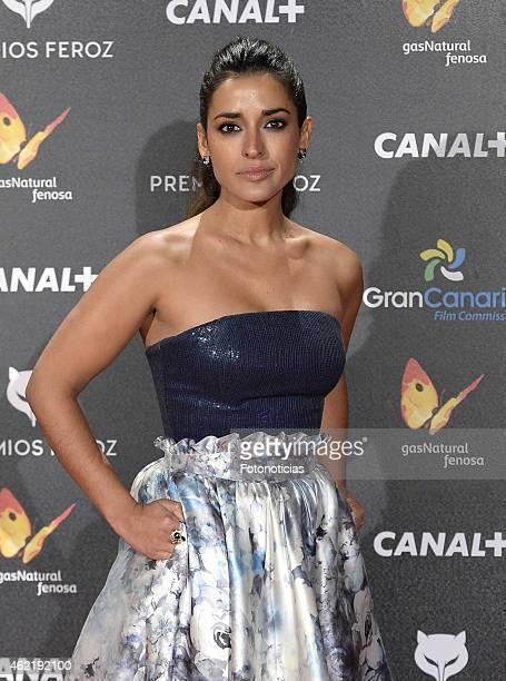 Inma Cuesta attends the 2015 'Feroz' Cinema Awards at Gran Teatro Ruedo Las Ventas on January 25 2015 in Madrid Spain