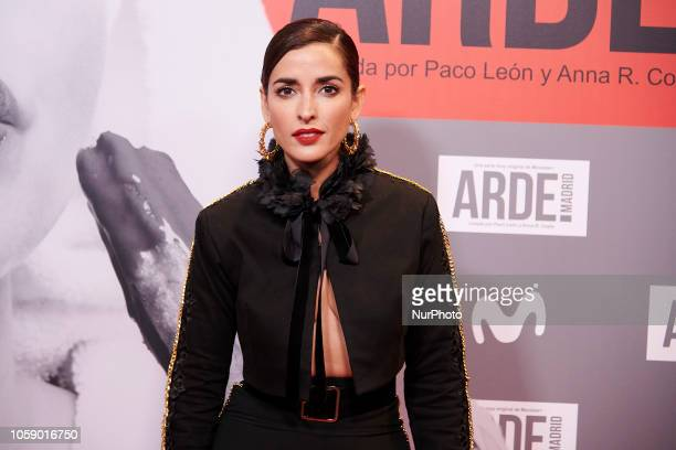 Inma Cuesta attends the 'Arde Madrid' Tv series premiere Photocall at Callao Cinema in Madrid on November 7 2018