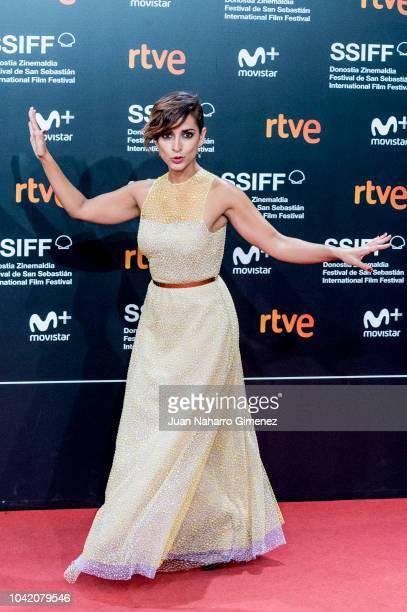 Inma Cuesta attends the 'High Life' premiere during the 66th San Sebastian International Film Festival on September 27 2018 in San Sebastian Spain
