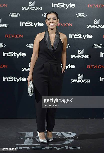 Inma Cuesta attends the InStyle Magazine 10th anniversary party at Gran Melia Fenix Hotel on October 21 2014 in Madrid Spain