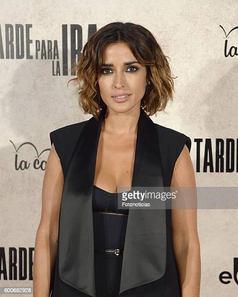Inma Cuesta attends the 'Tarde Para la Ira' premiere at Capitol cinema on September 8 2016 in Madrid Spain