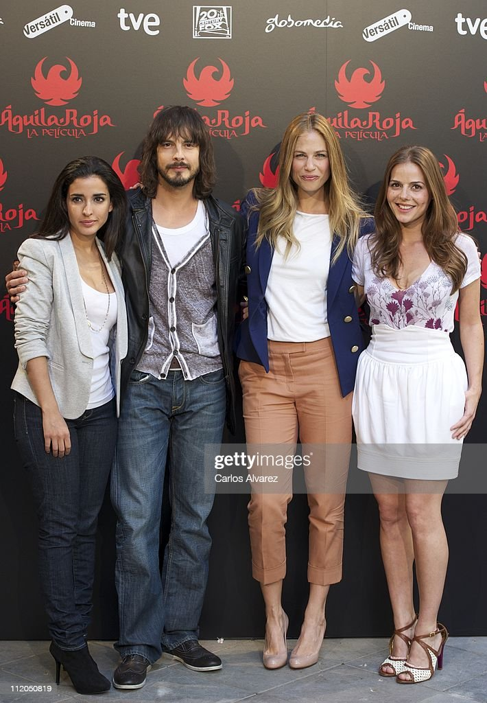 'Aguila Roja' Photocall in Madrid