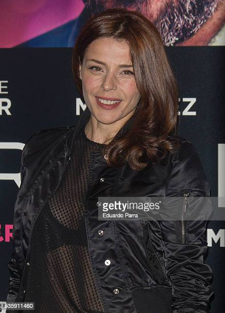 Inma del Moral attends the 'Nuestros Amantes' premiere at Palafox cinema on May 30 2016 in Madrid Spain