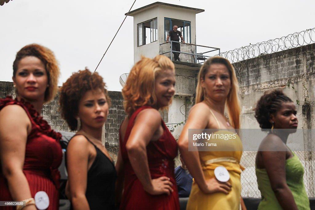 Rio De Janeiro Prison Hosts Inmate Beauty Pageant