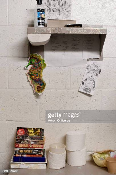 Inmates belongings in their cell at the Pueblo County Detention Center on Wednesday December 6 2017 The jail which is currently well beyond capacity...