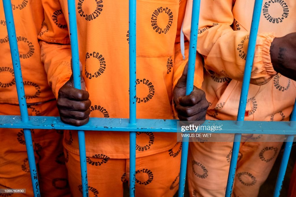 SAFRICA-CRIME-PRISON : News Photo