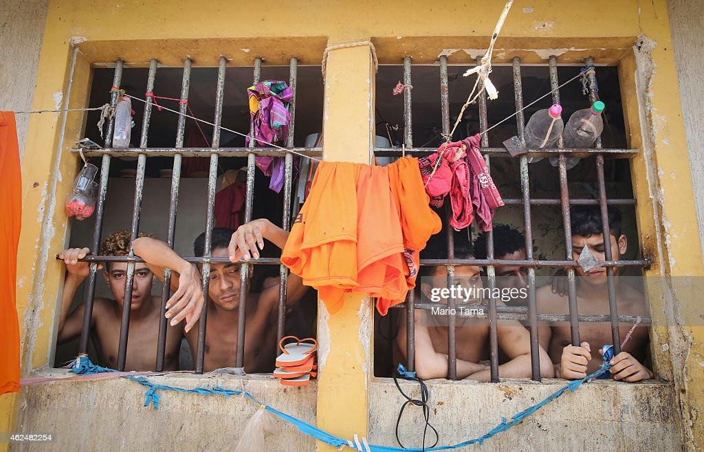 Notorious Brazilian Prison Strives For Reform : News Photo
