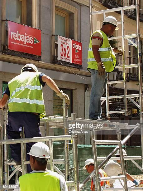 Inmigrants working in Madrid