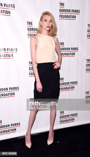 Inna Pilipenko attends the 2017 Gordon Parks Foundation Awards Gala at Cipriani 42nd Street on June 6 2017 in New York City