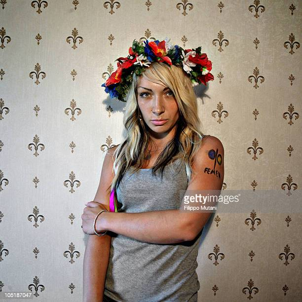 Inna Shevchenko activist and member of Femen FEMEN is a social movement and provocative women's movement in Ukraine founded in 2008 by Anna Hutsol...