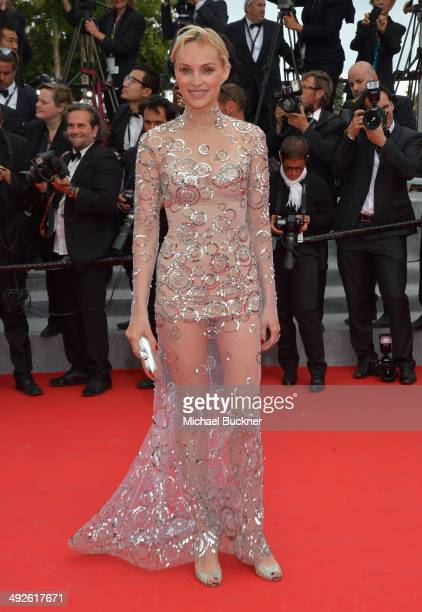 Inna Zobova attends The Search premiere during the 67th Annual Cannes Film Festival on May 21 2014 in Cannes France
