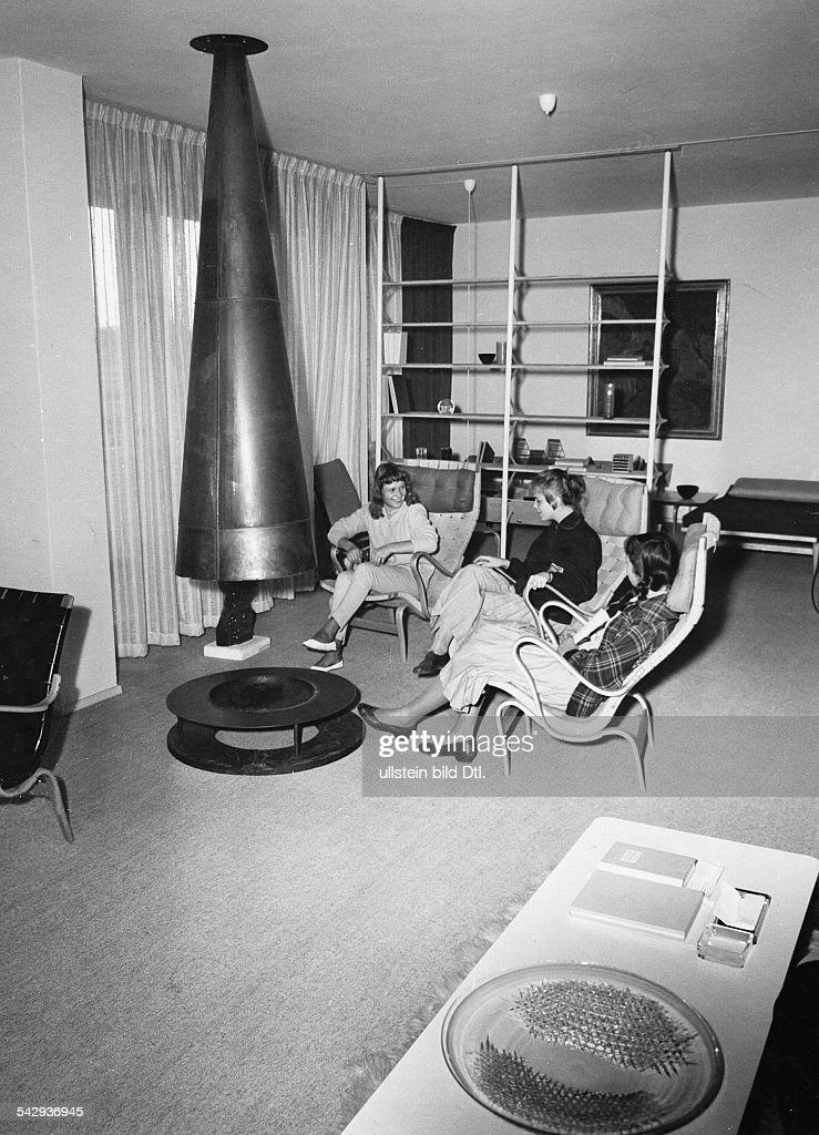Inneneinrichtung Schwedenhaus 1960 News Photo Getty Images