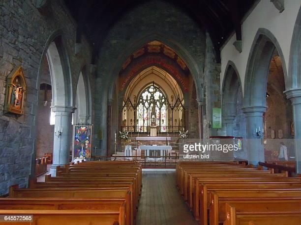 Innenraum der Holy Trinity Abbey Church aufgenommen am 22 Juli 2015 in der Kleinstadt Adare bei Limerick