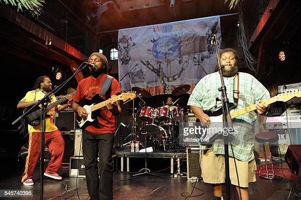 Inner Circle Band Reggae Jamaica performing in Hamburg Germany Fabrik