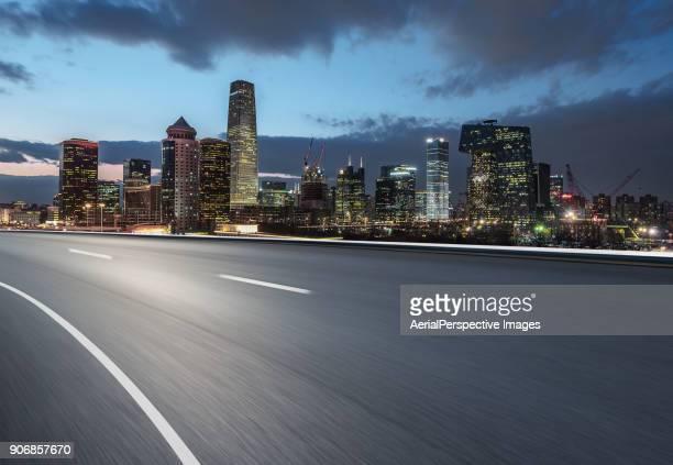 Inner City Highway of Beijing CBD