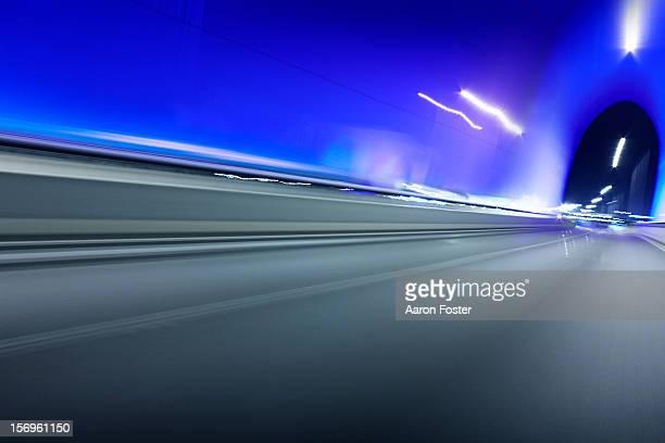 Inner City Night Highway Overpass