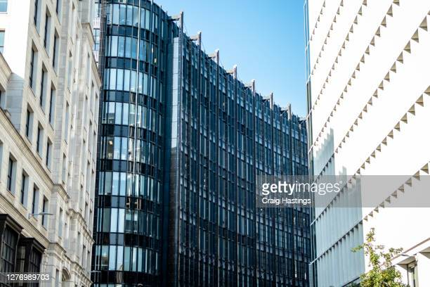 inner city of london example of modern apartments, flats and residential real estate homes. uk - notting hill stock pictures, royalty-free photos & images