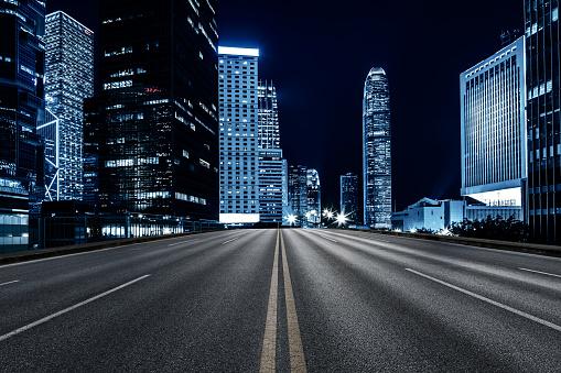 Inner city road, Hong Kong 1124636717