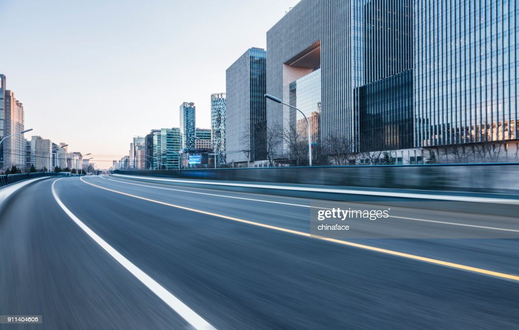 inner city road : Stock Photo