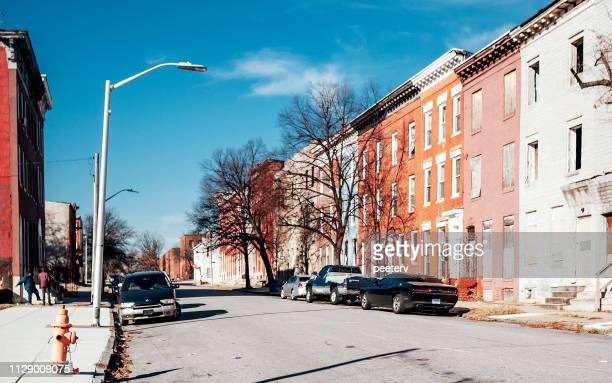 Inner city streets - Baltimore, MD