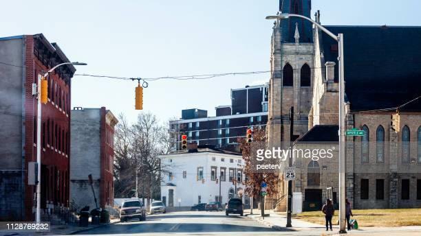 Inner city streets - Baltimore