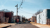 Inner city streets - Camden, NJ