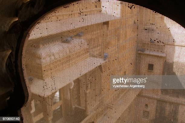 inner courtyards inside the jaisalmer fort (the golden fortress), india - argenberg stock-fotos und bilder