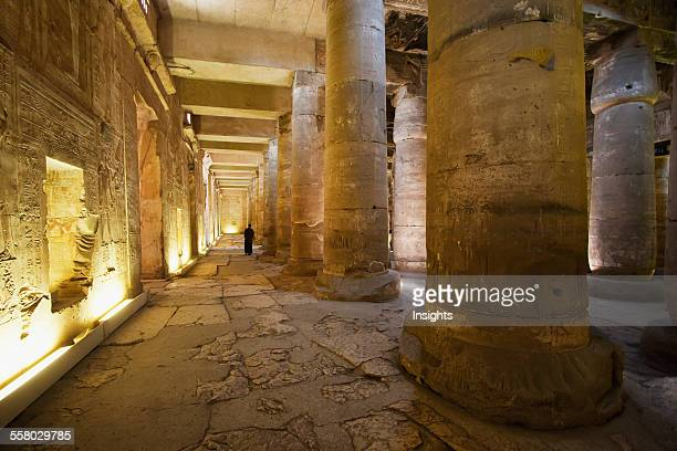 Inner Hypostyle Hall Of The Temple Of Seti I Abydos Sohag Egypt