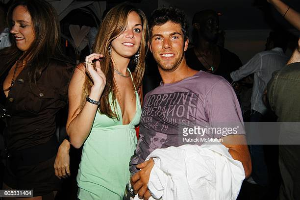 Innes and Alex Schwartz attend DJ Cassidy and Fonzworth Bentley Host BUNNY CHOW Sunday at CAIN Southampton Club on May 28 2006 in Southampton NY