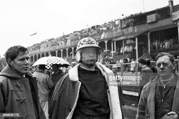 Innes Ireland Dick Scammell LotusClimax 21 Grand Prix of Great Britain Aintree 15 July 1961