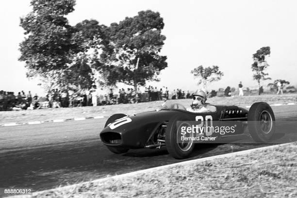 Innes Ireland LotusClimax 18 Grand Prix of Argentina Autodromo Oscar Alfredo Galvez Buenos Aires 07 February 1960